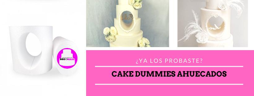 torta falsa telgopor hole cake