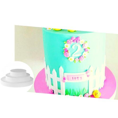 bandeja alta densidad para torta