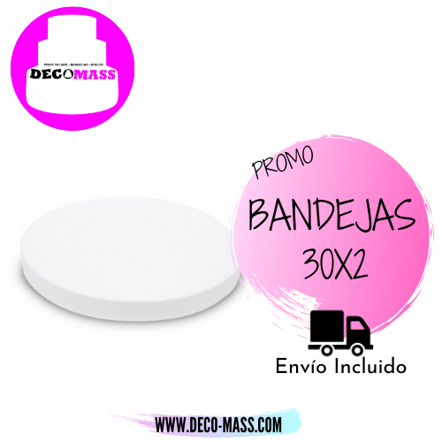 BANDEJAS PARA TORTAS REDONDAS